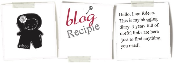 blog recipie