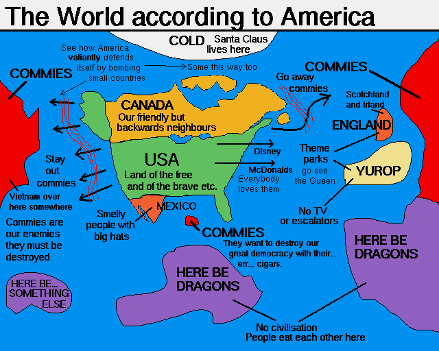The World According to miss*H: The World According to the USofA