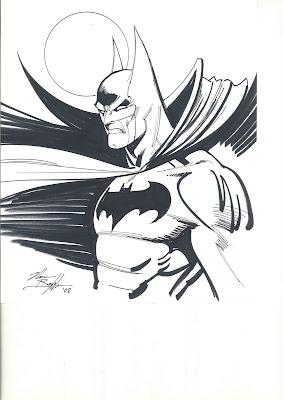 batman sketch by norm breyfogle