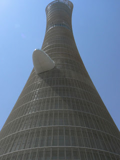 Aspire Tower - where the Olympic Flame burned throughout the Asian Olympic Games