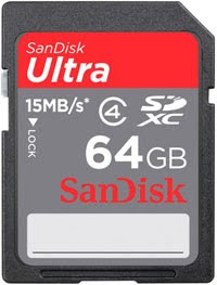 Sandisk SDXC Card 64GB Out Now