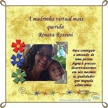 Sou madrinha virtual!!!