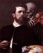 Autoritratto con la morte che suona il violino (1872)