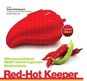 RED HOT CHILLI KEEPER