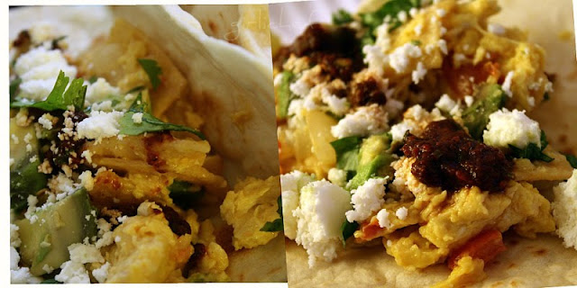 First you were sent Over The Edge...now you're getting some Homemade Tortillas and Breakfast Tacos!  You're welcome ; )