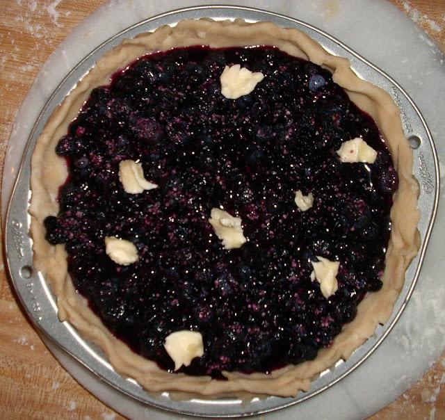 Why So Blue-berry Pie | www.girlichef.com