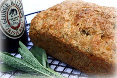 Sage & Cheddar Beer Bread
