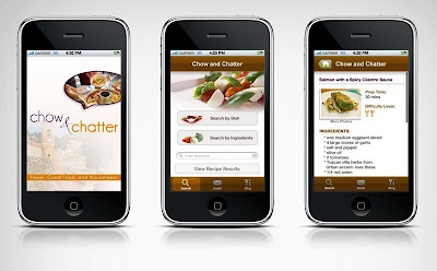 Chow and Chatter Recipe App  <i>~support a fellow blogger!</i>