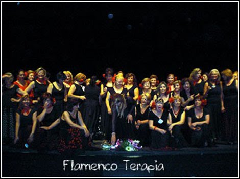 Nuestros talleres de Flamencoterapia