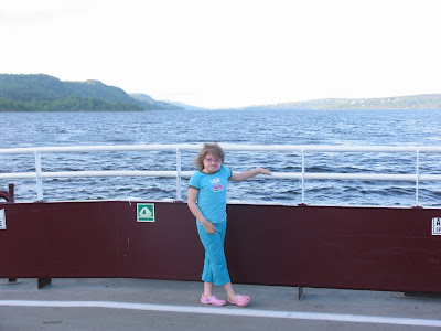 Kennedy on the Gondola Point Ferry
