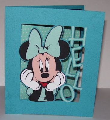 Susan Bluerobot Minnie Dots Card 1 Of 6 Plus Pattern