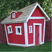 Kids Crooked Playhouse