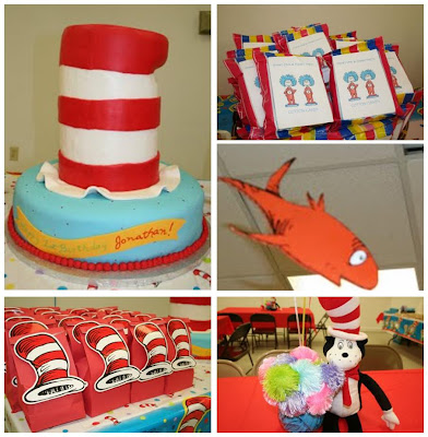 Specializes in Party Packs Store 2. Cat in the Hat Party Ideas