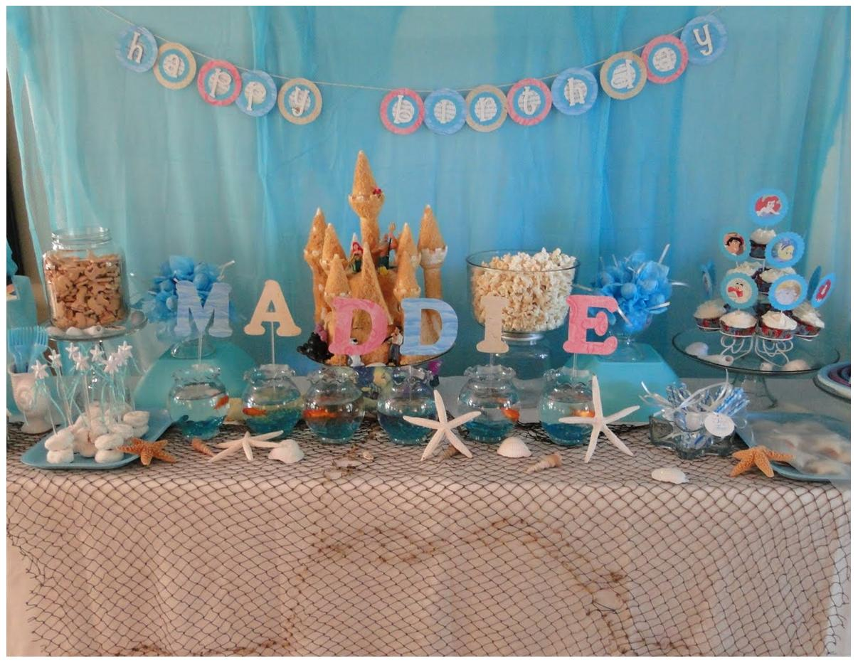 Stem fabulous parties start here september 2010 for Ariel party decoration ideas