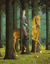 Carte Blanche by Rene Magritte
