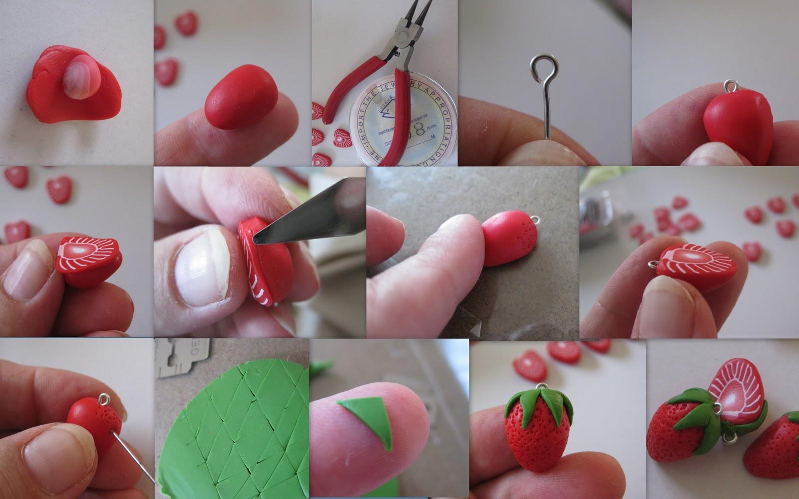 Сделать украшения своими руками из глины