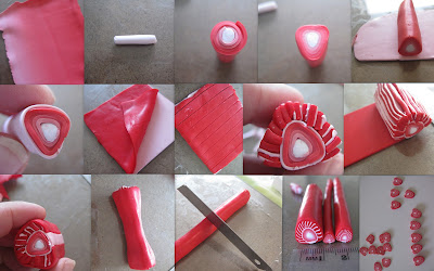Как из полимерной глины сделать переход цвета
