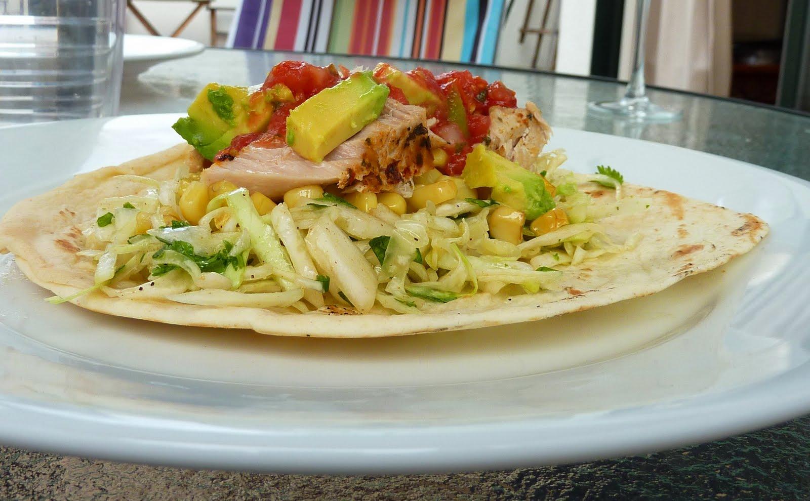 Simple plates california fish tacos for California fish tacos