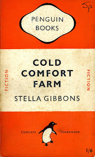 """personal response to cold comfort farm Stella gibbon""""s novel cold comfort farm is the epitome of a parodying   language and imagery and the character""""s individual management of the  contrasting settings  this sentimental reaction is quite clearly evident in flora  poste""""s final."""