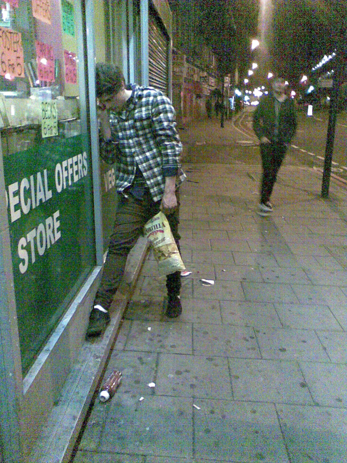 biggest drunk lean award winner please note colossal bag of nacho tortilla chippers