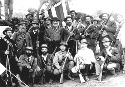 Boer fighters from the Anglo-Boer War 1899-1903