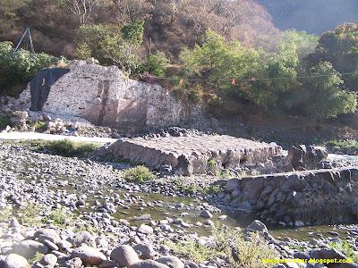 Lugar de donde estuvo el puente de arcediano