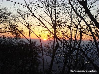 Amanecer en el Cerro de la Mesa