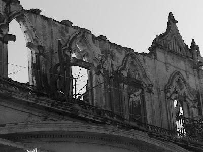Otra vista de la fachada de la Hacienda de San José de Gracia