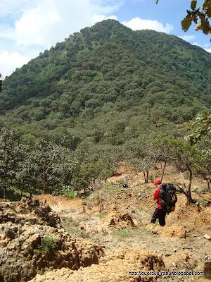 Rumbo al segundo Picacho en el Cerro Grande de Ameca