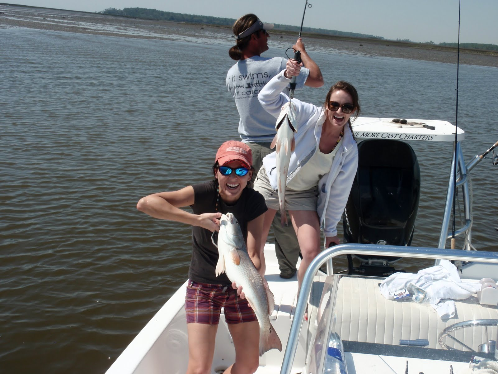 Savannah style one more cast charter fishing in savannah for Savannah fishing charters