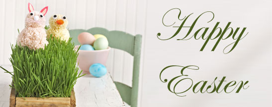 Shabby Chic Easter Table Crafts Favors Paper Napkin Decoupage Eggs Martha Stewart Style