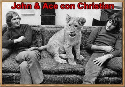 john and ace con christian, el leon fiel