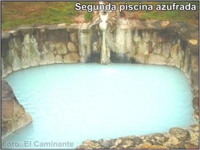 segunda piscina azufrada de oromina en moyobamba, peru