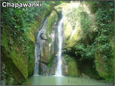 cascada de chapawanki (lamas, peru)