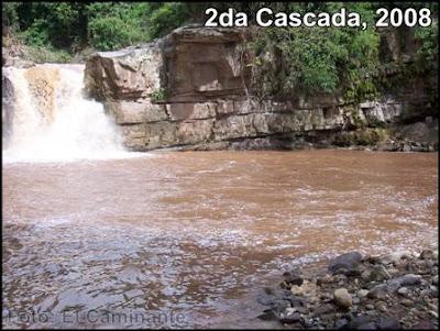 segunda cascada de lahuarpia en epoca lluviosa (moyobamba)