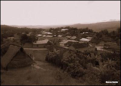barrio nativo wayku o huayco de lamas, peru