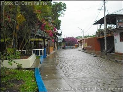 Boulevard de la Punta de Tahuishco (Moyobamba, Perú)