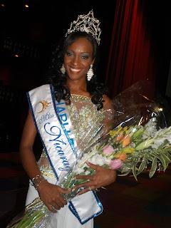 Miss Nicaragua 2010 - Scharlette Allen Moses won!!! Nica2010