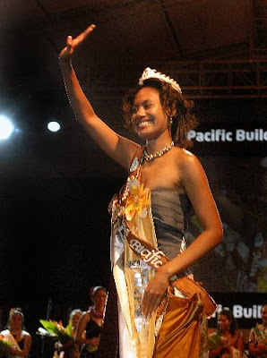 Miss South Pacific 2009, Merewalesi Nailatikau