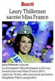 Miss France 2012 Candidates