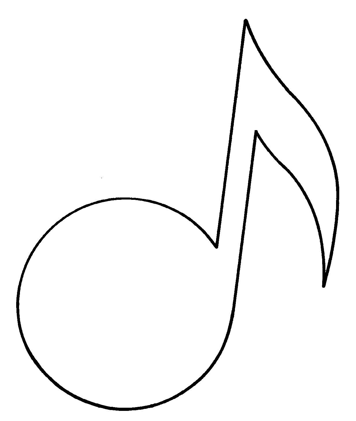 This is a graphic of Hilaire Printable Music Note