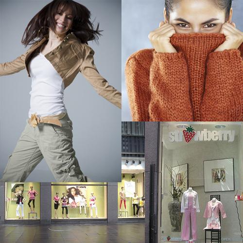 Strawberry clothing store new york