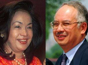 foto 3 perkara wajib bagi Najib-Rosmah