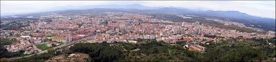 Girona des del pirulí 2006