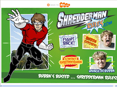 Shredderman rules the movie