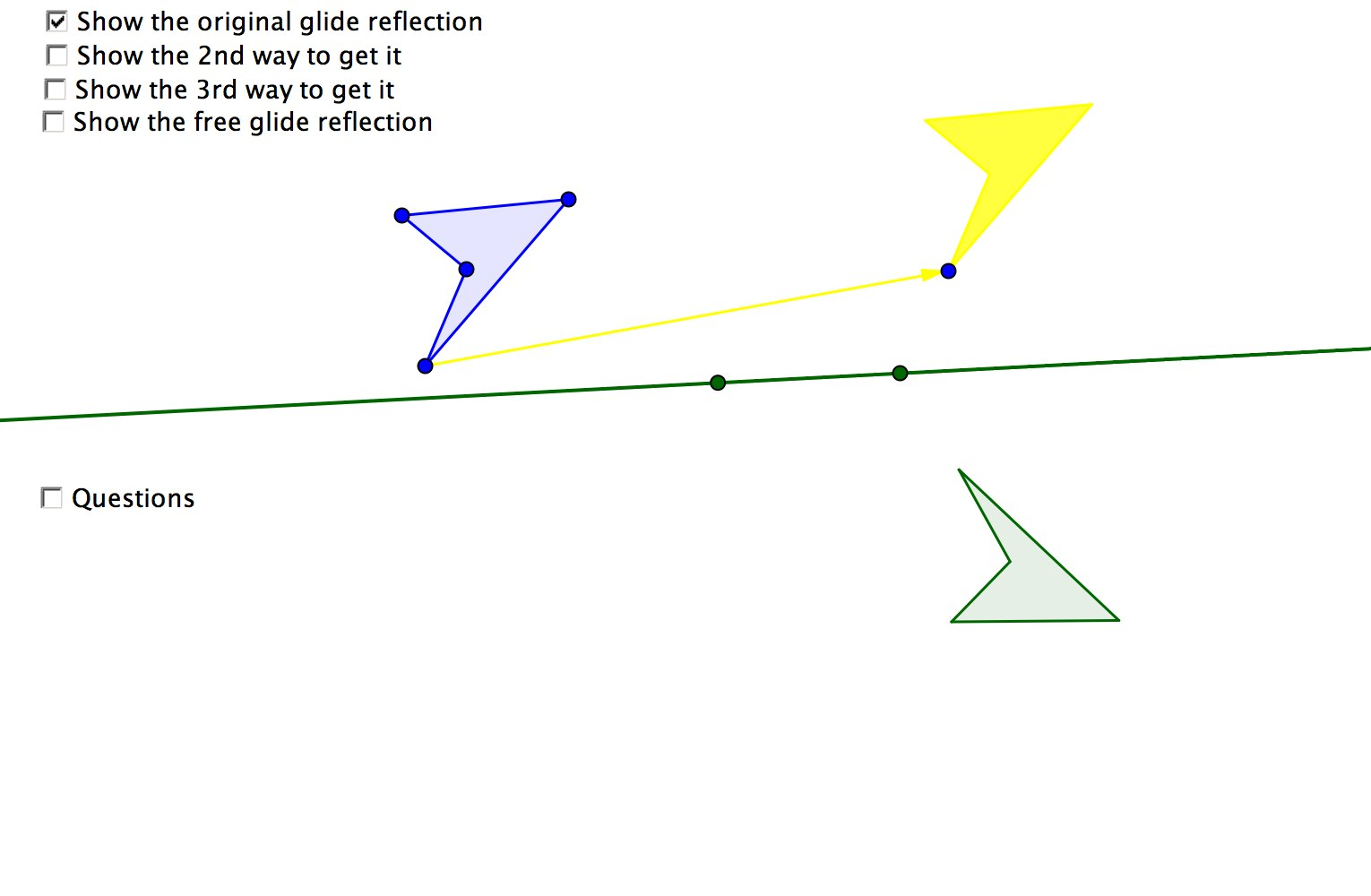 math hombre: glide reflection