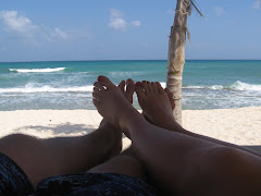 Us in 'our spot': Riviera Maya, Mexico