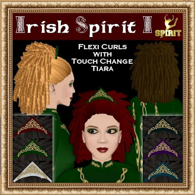 Irish Spirit I Hairstyleavailable in 16 shades, sold in packs of 4 for