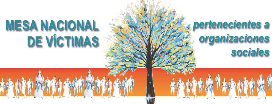 Mesa Nacional de Víctimas Pertenecientes a Organizaciones Sociales. Colombia