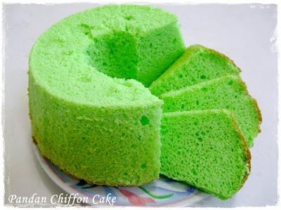 Tested & Tasted: Pandan Chiffon Cake II